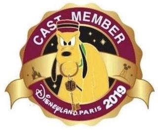 Pluto Tower of Terror Cast Member Disneyland Paris 2019 Pin