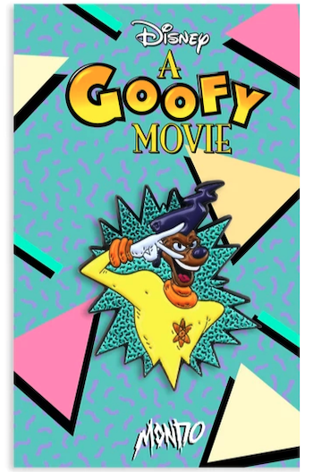 Powerline - A Goofy Movie Mondo Disney Pin