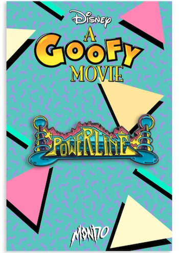 Powerline Logo - A Goofy Movie Mondo Disney Pin