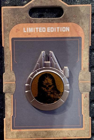 Resistance Reveal Chewbacca Star Wars Galaxy's Edge Pin