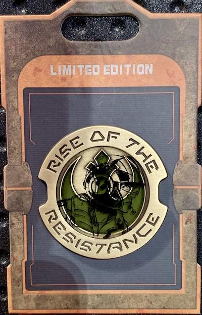 Rise of the Resistance Poe Dameron Star Wars Galaxy's Edge Pin