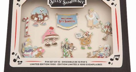 Silly Symphony 90th Anniversary Disney Visa Cardmember Pin Set