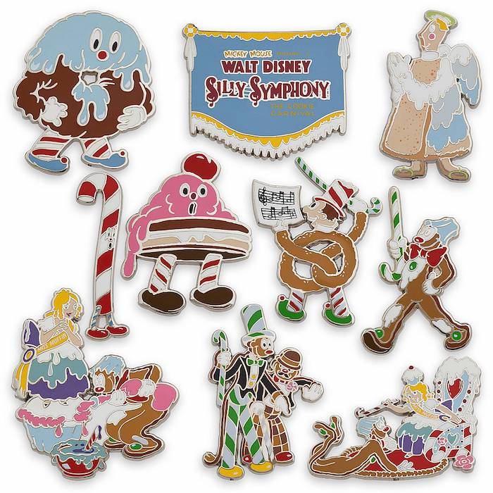 Silly Symphony 90th Anniversary Disney Visa Cardmember Pins