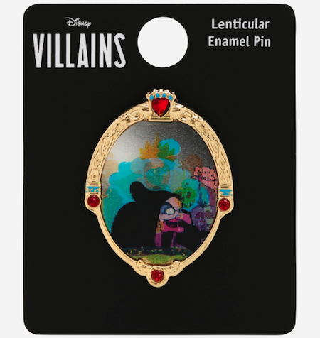 Snow White and the Seven Dwarfs Evil Queen Lenticular BoxLunch Disney Pin