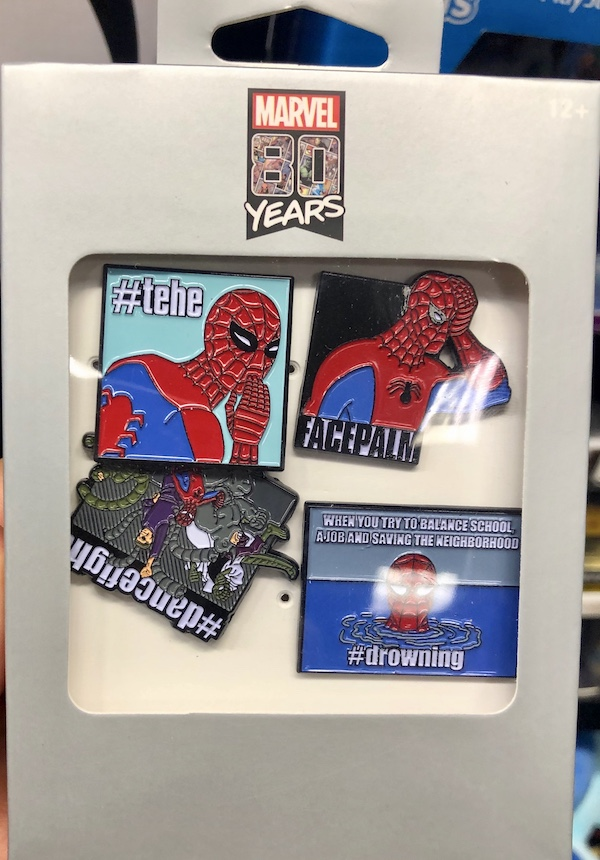 Spider-Man Pin Set - GameStop