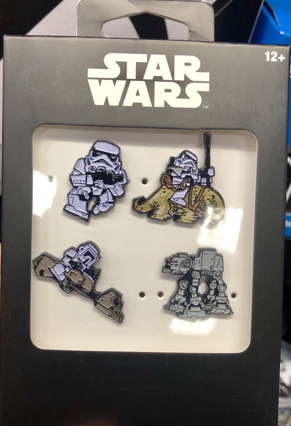 Star Wars Cartoon Character Pin Set - GameStop