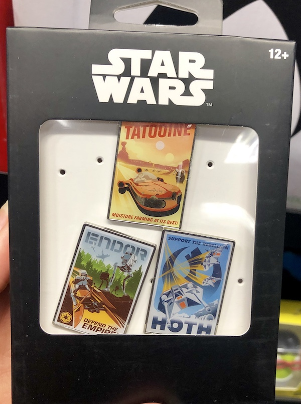 Star Wars Poster Pin Set - GameStop