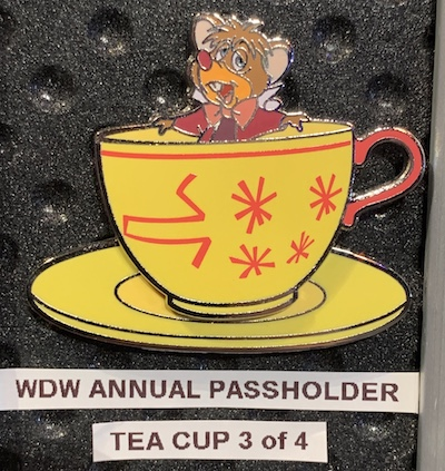 The Dormouse WDW Passholder 2019 Pin