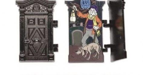 The Haunted Mansion 50th Anniversary Club 33 Disney Pin #5