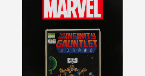 The Infinity Gauntlet Comic BoxLunch Marvel Pin