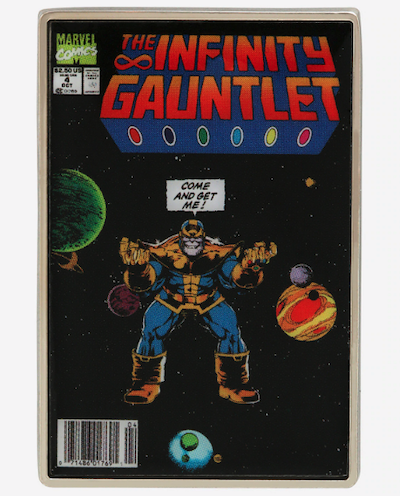 The Infinity Gauntlet Comic Marvel Pin