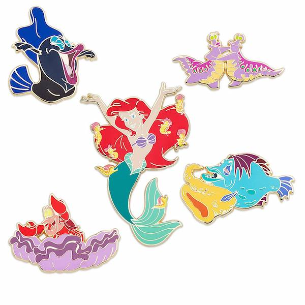 The Little Mermaid  30th Anniversary Limited Release Pin Set - shopDisney