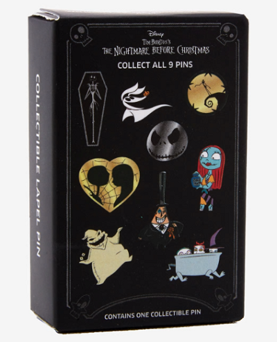 The Nightmare Before Christmas Blind Box Pins at Hot Topic