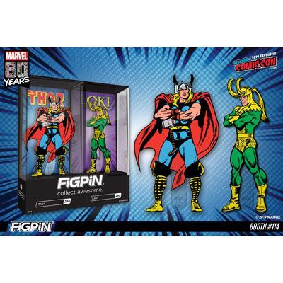 Thor & Loki FiGPiN 2-Pack - NYCC 2019