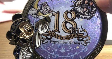 Tokyo DisneySea 18th Anniversary Pin - Closer Look