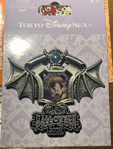 Tokyo DisneySea Halloween 2019 Mickey Pin