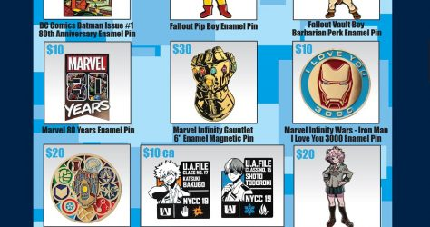 Toynk PIn Releases - NYCC 2019