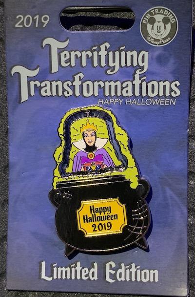 Transformations Evil Queen 2019 Disney Pin