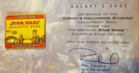 Walt Disney World Cast Star Wars Galaxy's Edge Grand Opening Pin