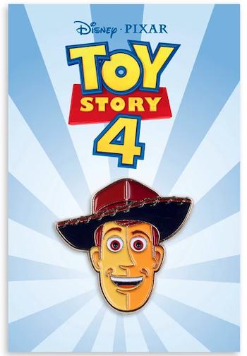 Woody - Toy Story 4 Mondo Disney Pin
