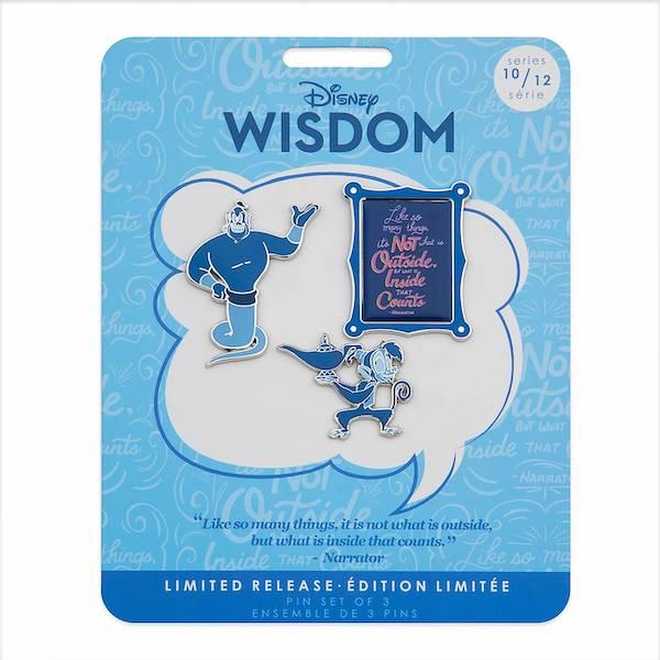 Aladdin Disney Wisdom Pin Set