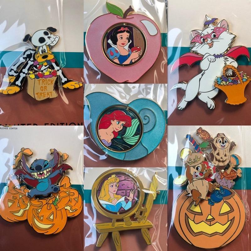 All Halloween 2019 Disney Employee Center Pins