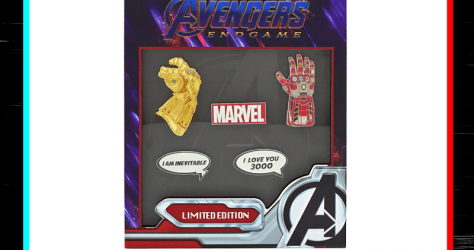 Avengers Endgame NYCC 2019 Loungefly Pin Set
