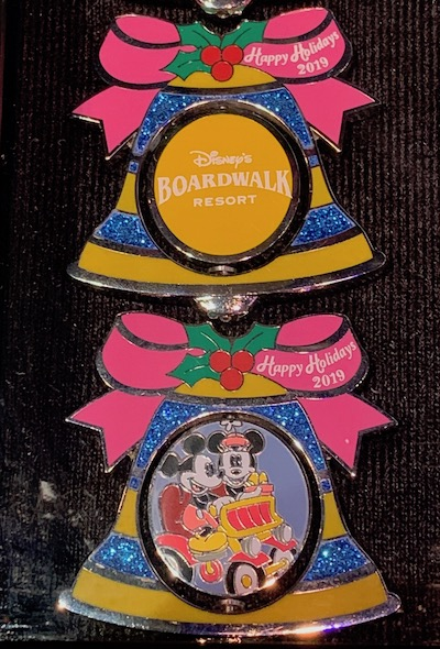Boardwalk Resort 2019 Holiday Pin