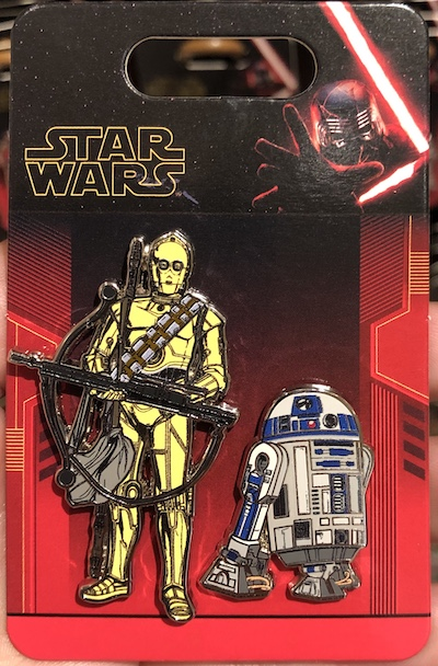 C-3PO and R2-D2 Pin Set - The Rise of Skywalker