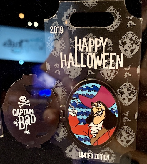 Captain Hook Halloween 2019 Tiered Disney Pin