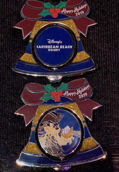 Caribbean Beach Resort 2019 Holiday Pin