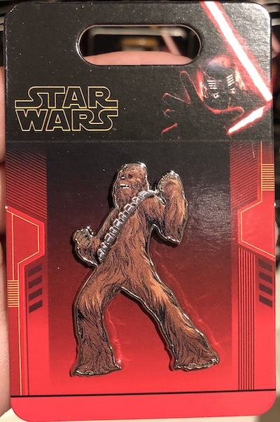 Chewbacca Pin - The Rise of Skywalker