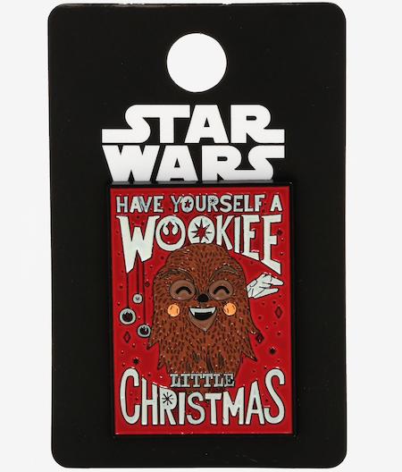 Chewbacca Wookiee Little Christmas Pin