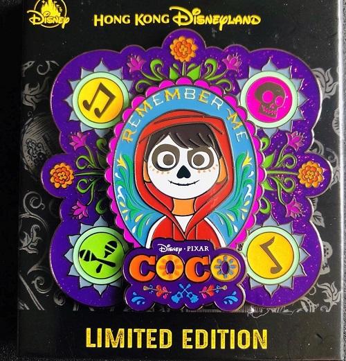 Coco HKDL Jumbo Pin