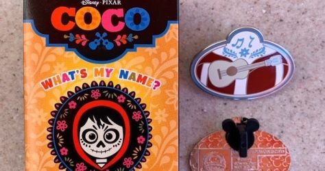 Coco What's My Name Mystery Disney Pin Collection