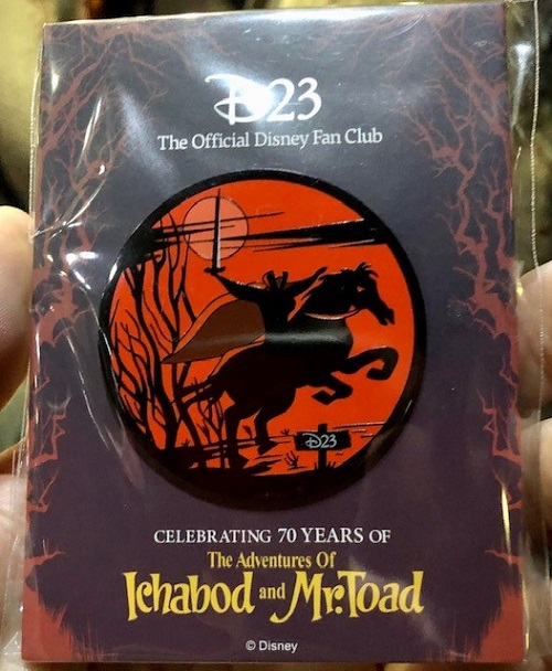 D23 Heads to the Hollow Disney Pin