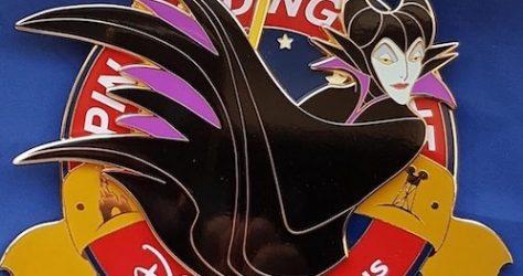DLP Maleficent PTN Jumbo Pin