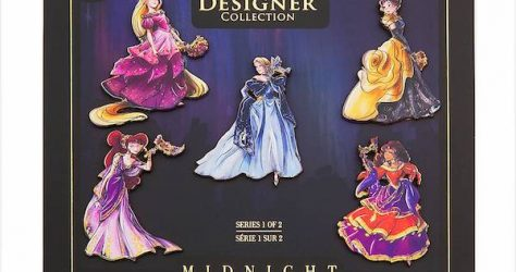 Disney Designer Collection Midnight Masquerade Pin Set 1