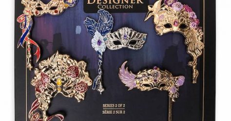 Disney Designer Collection Midnight Masquerade Pin Set 2