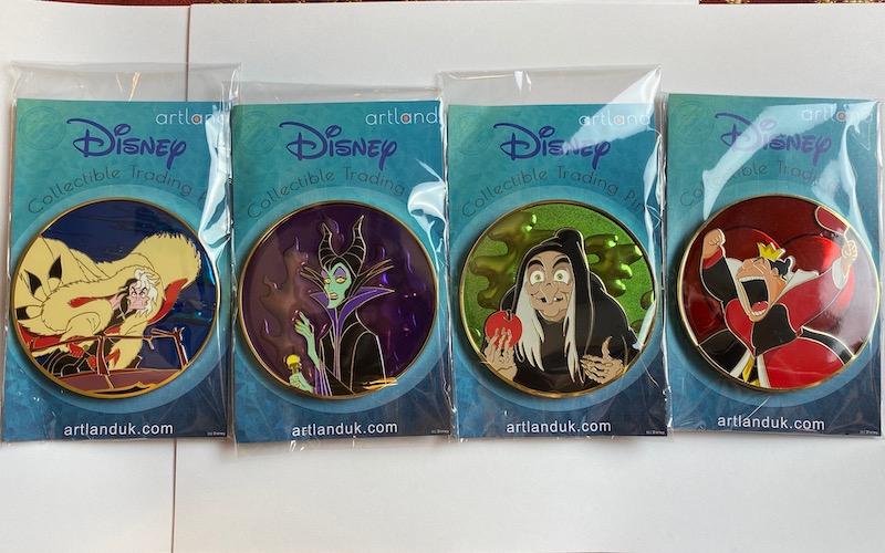 Disney Villains LE 250 ArtLand Pins