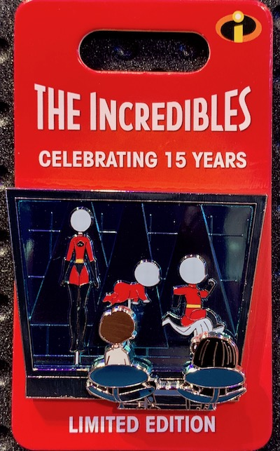 Edna Mode Incredibles 15th Anniversary Pin