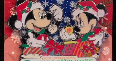 Epcot Festival of the Holidays 2019 Disney Pins