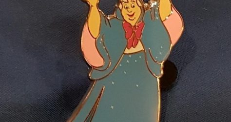 Fairy Godmother Disneyland Paris Refresher Pin