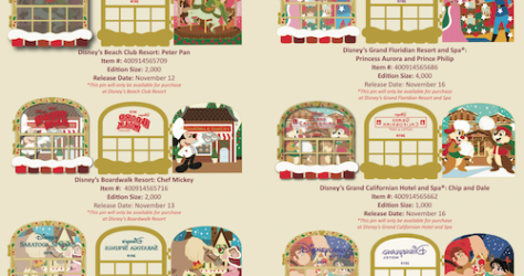 Gingerbread 2019 Disney Pins