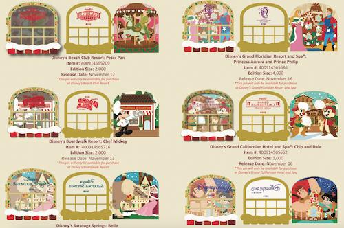 Gingerbread 2019 Disney Pins
