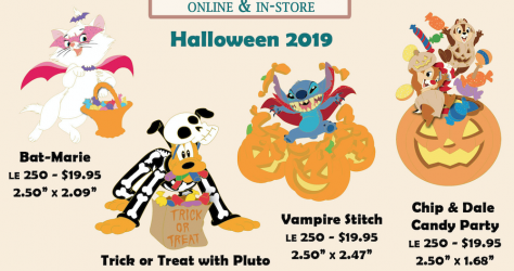 Halloween 2019 Disney Employee Center Pins