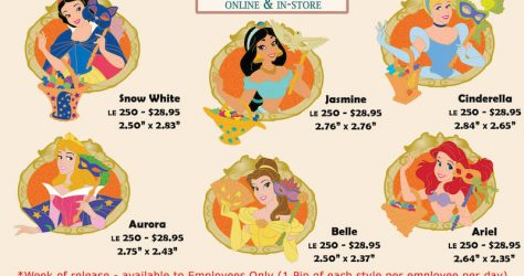 Halloween 2019 Princess Disney Employee Center Pins