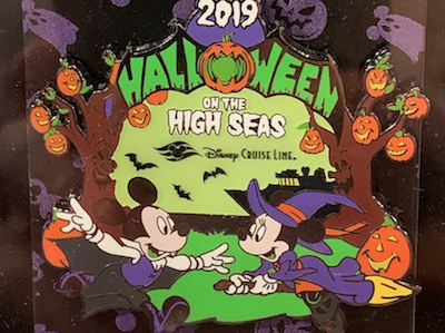 Halloween DCL 2019 Pin