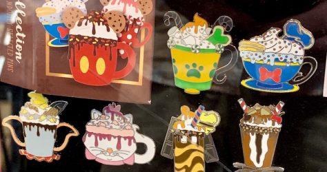 Happy Holiday Hot Cocoa Mystery Disney Pins