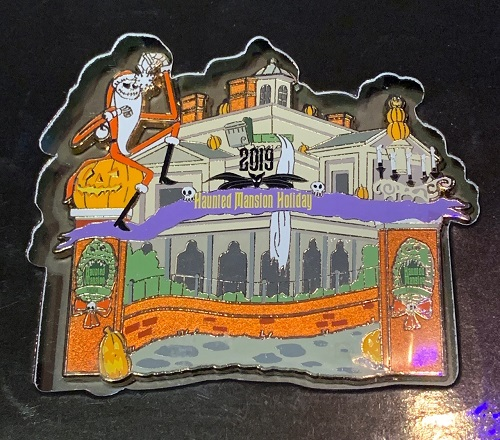 Haunted Mansion Holiday 2019 Jumbo Pin